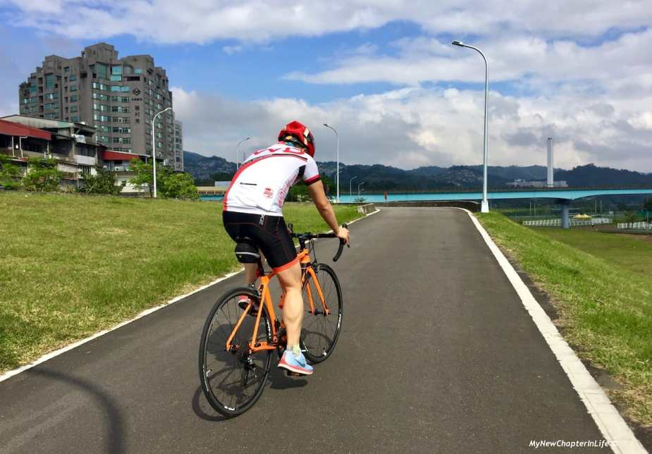 利用公路車為運動項目 Road cycling as a form of workout