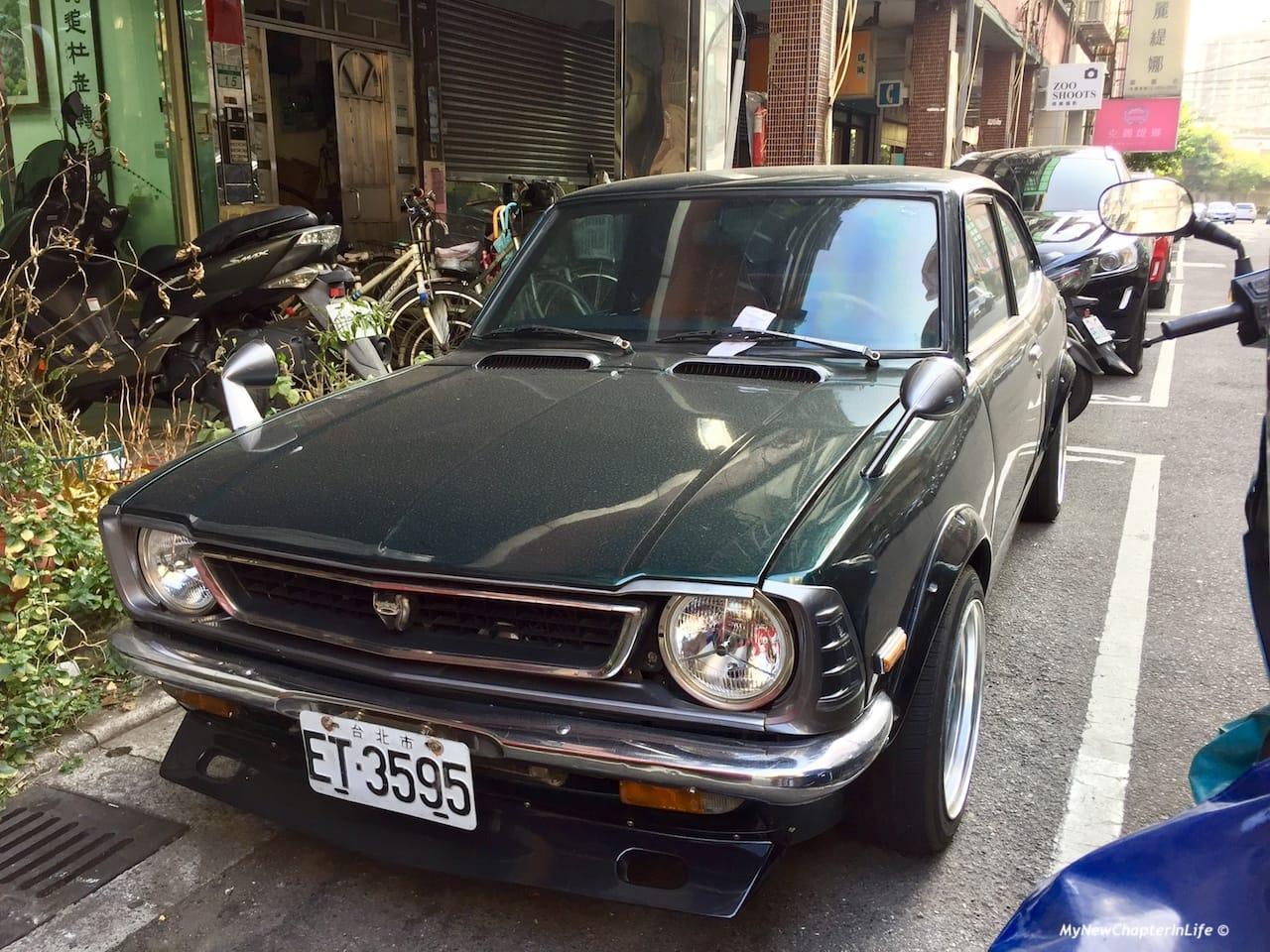 70年代豐田Corolla E20 Levin TE27轎跑車 70's Toyota Corolla E20 Levin TE27 Coupe