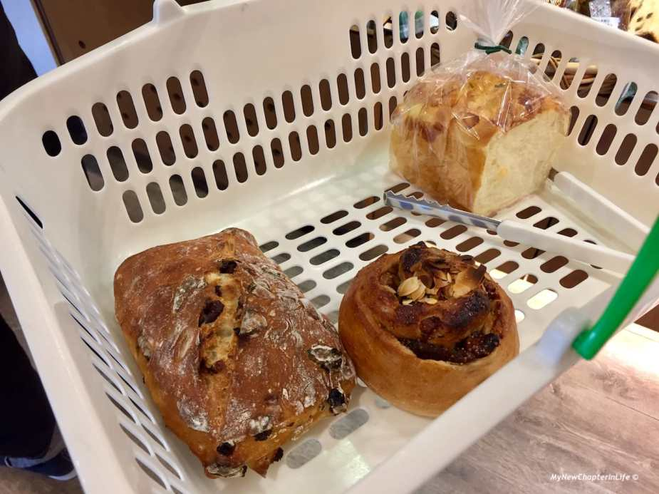 水菓洛斯堤克、核桃無花菓及乳酪吐司 Fruit Restigue, French bread with Fig Walnut and Cheese Toast