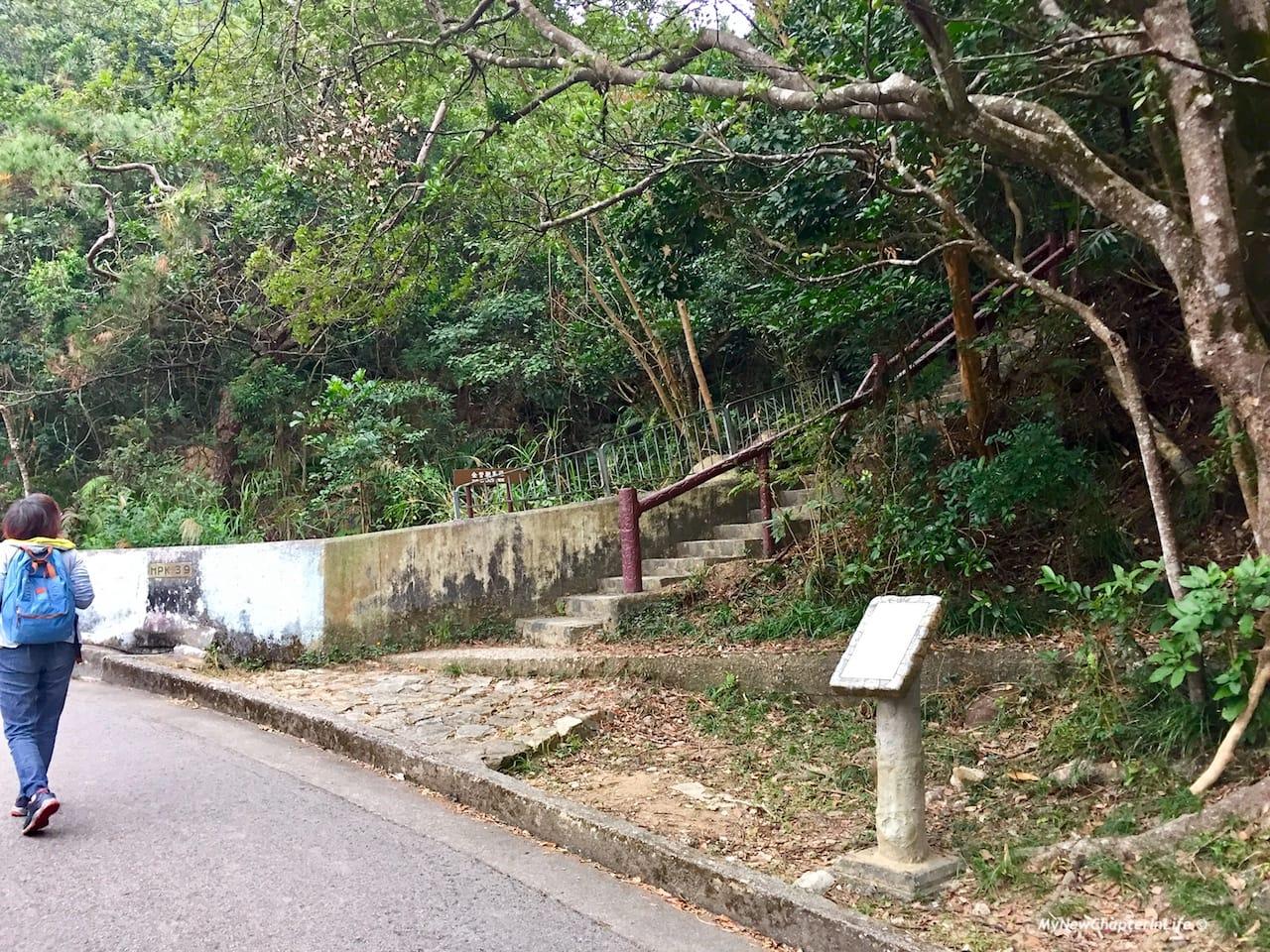 頗俱挑戰性的梯級入口 Another more challenging entrance with steps all the way