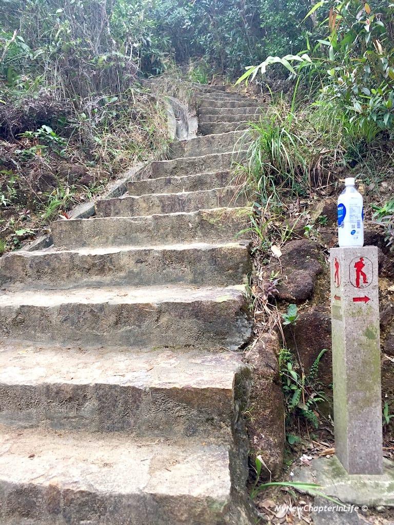 往小馬山的石級 Steps to Siu Ma Shan