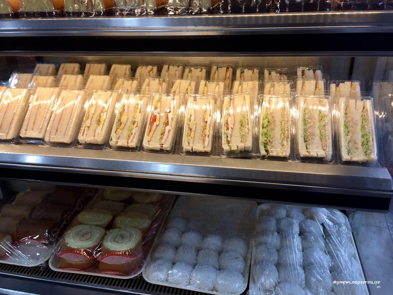 上班族的三文治 Sandwiches