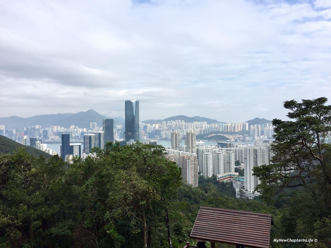 港島東及九龍東 View of Eastern Hong Kong Island and Kowloon