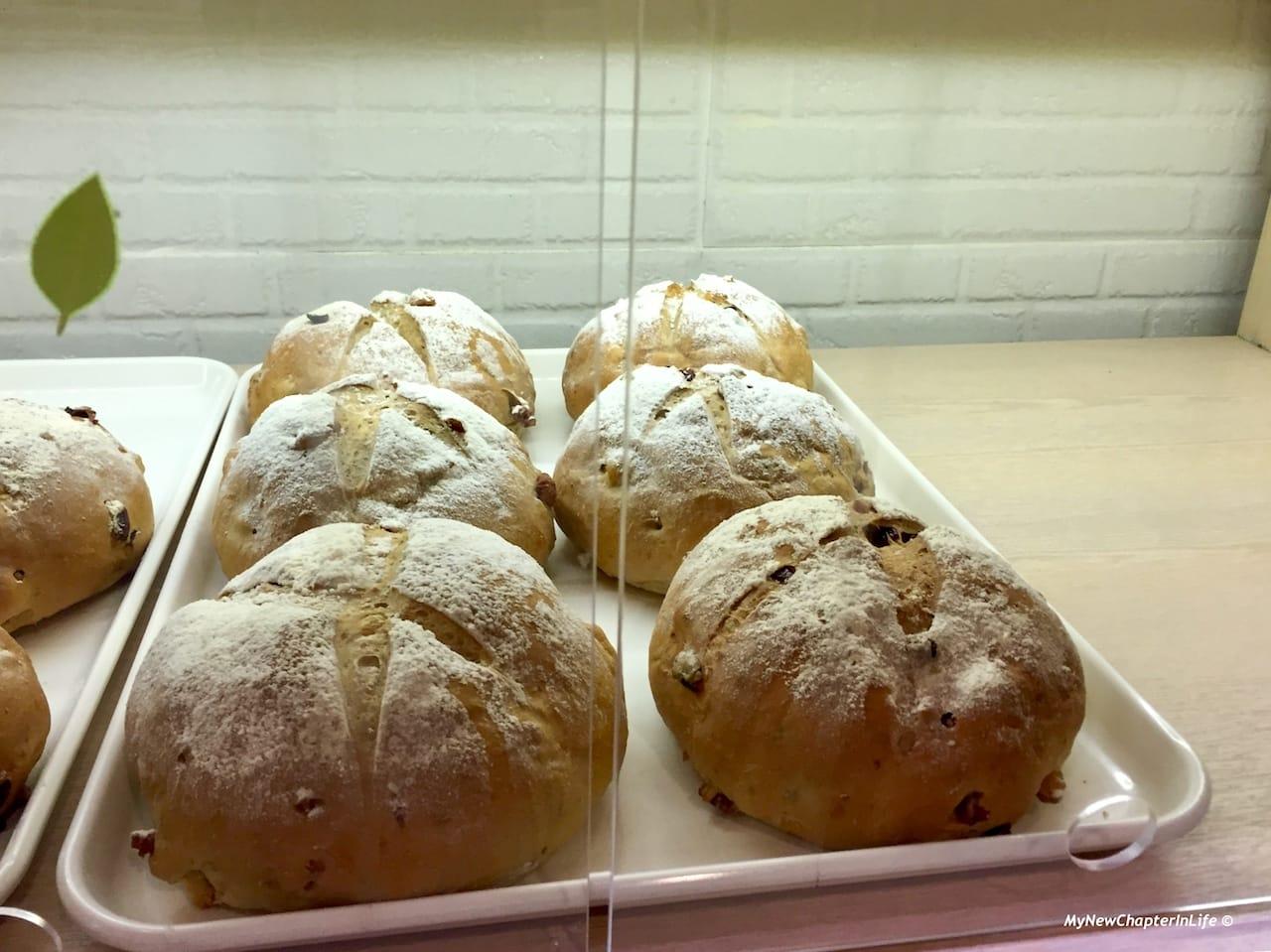 提子合桃麵包 Raisin and Walnut Bread