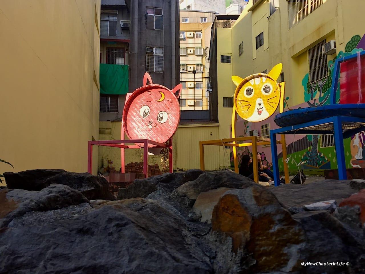 銀同社區貓咪高地 Tourist attraction for cat lovers