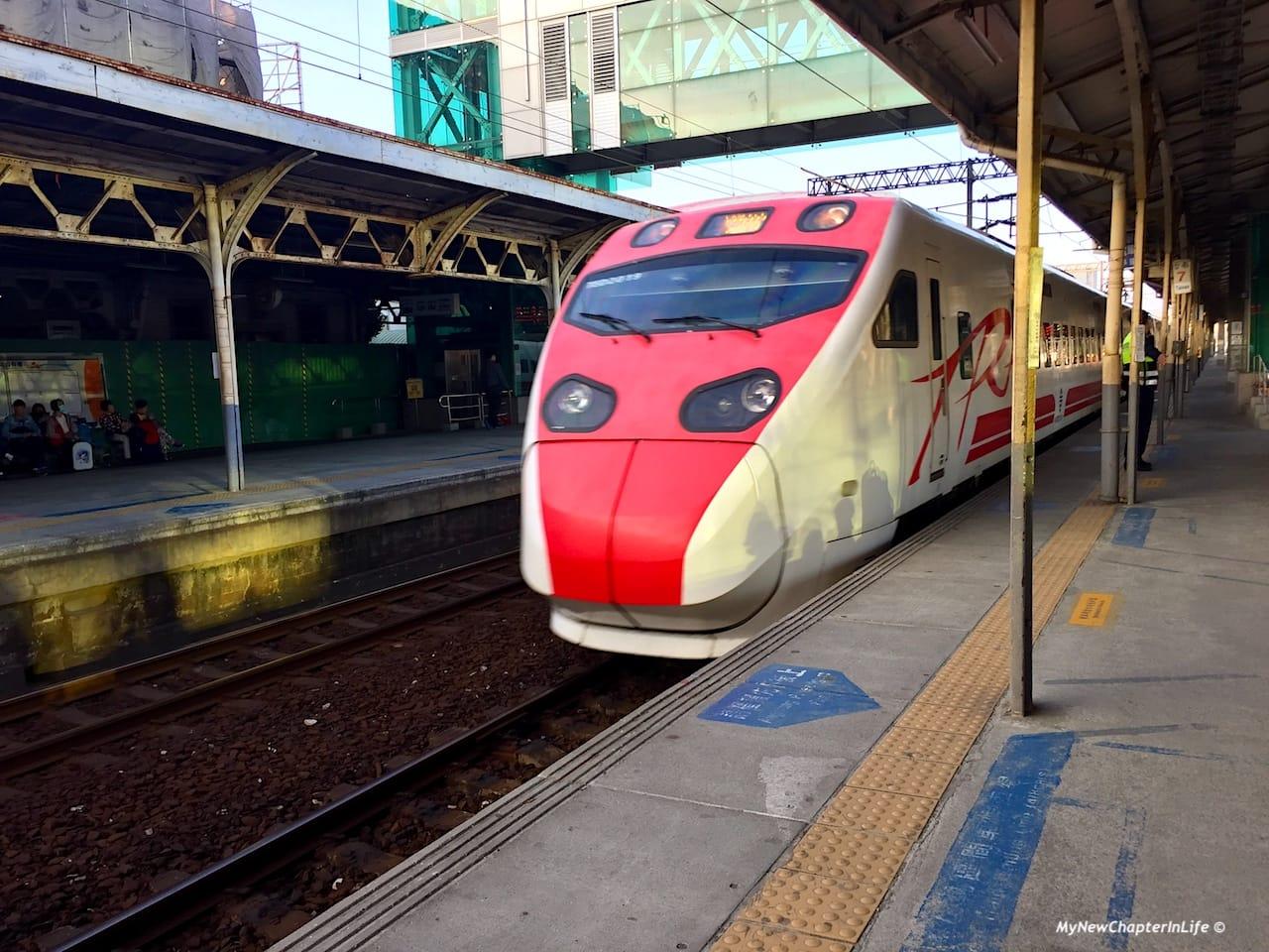 台鐵普悠瑪列車 Taiwan Railway Puyuma Express