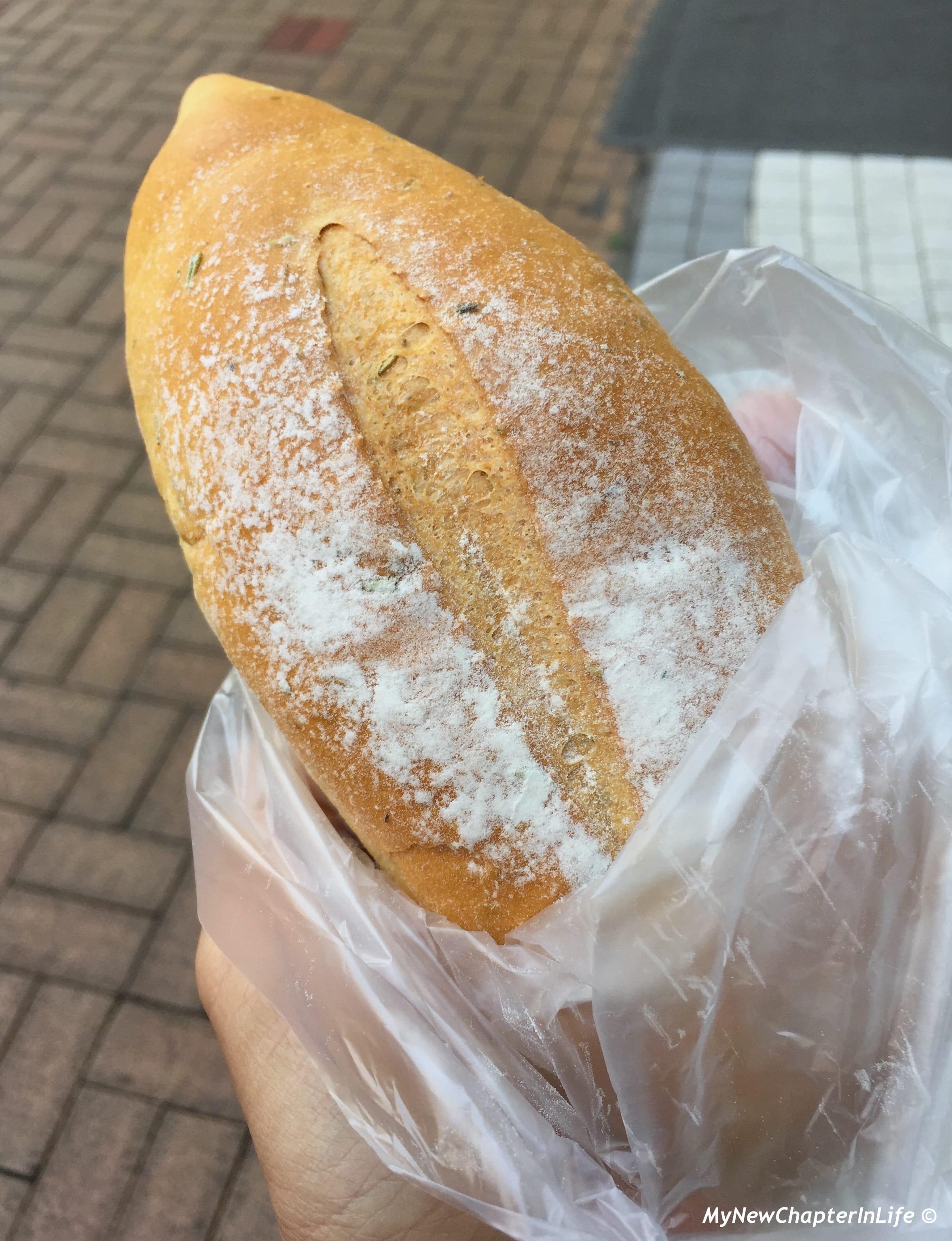 香草軟包 Olive Oil Bread with Herbs