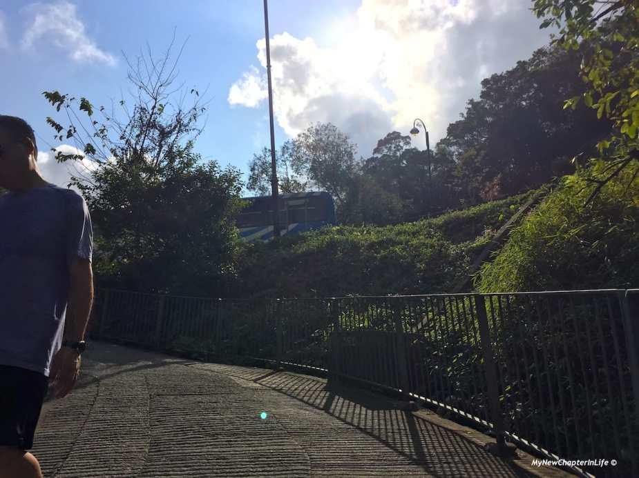 灣仔自然徑的盡頭 End of Wanchai Green Trail