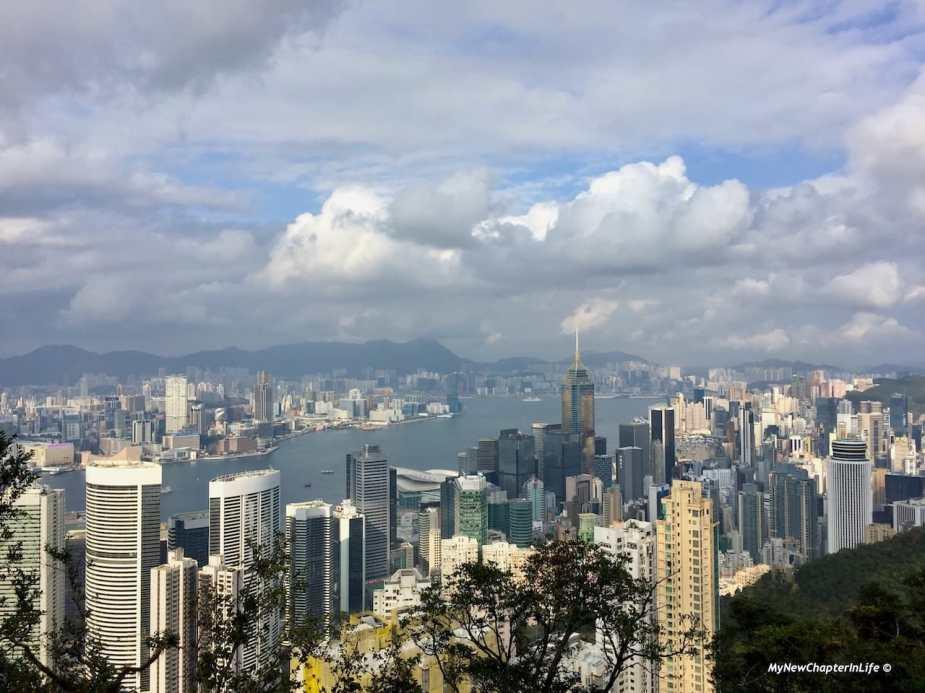 灣仔,中環及尖沙咀景色 View of Wanchai, Central and Tsim Sha Tsui