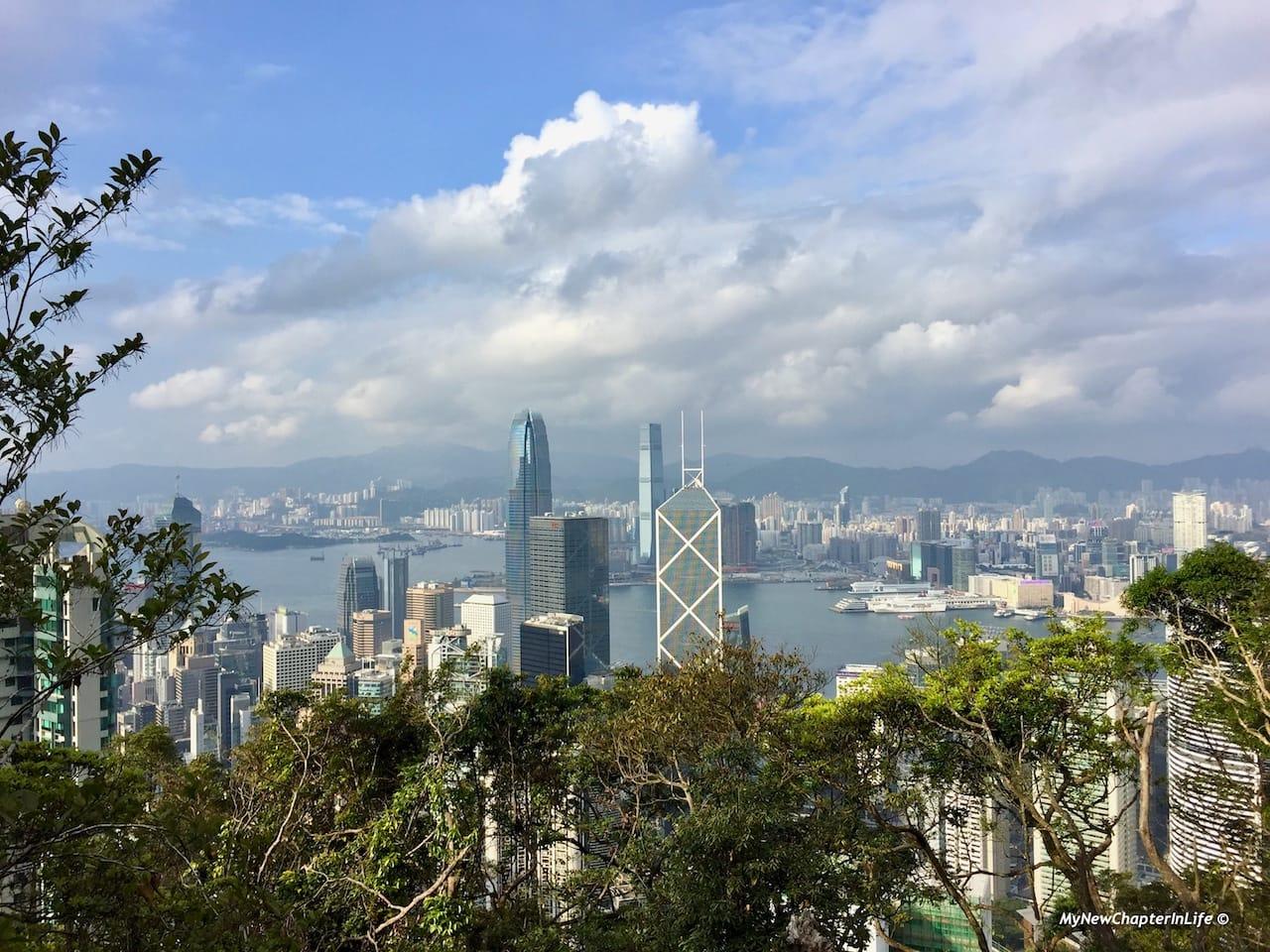 中環及西九龍景色 View of Central and West Kowloon