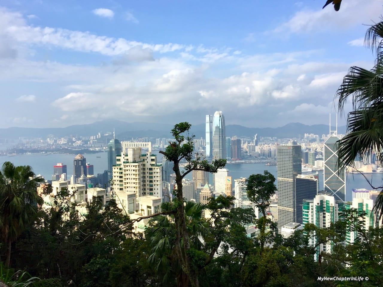 中、西環及西九龍景色 View of Central, Western District and West Kowloon
