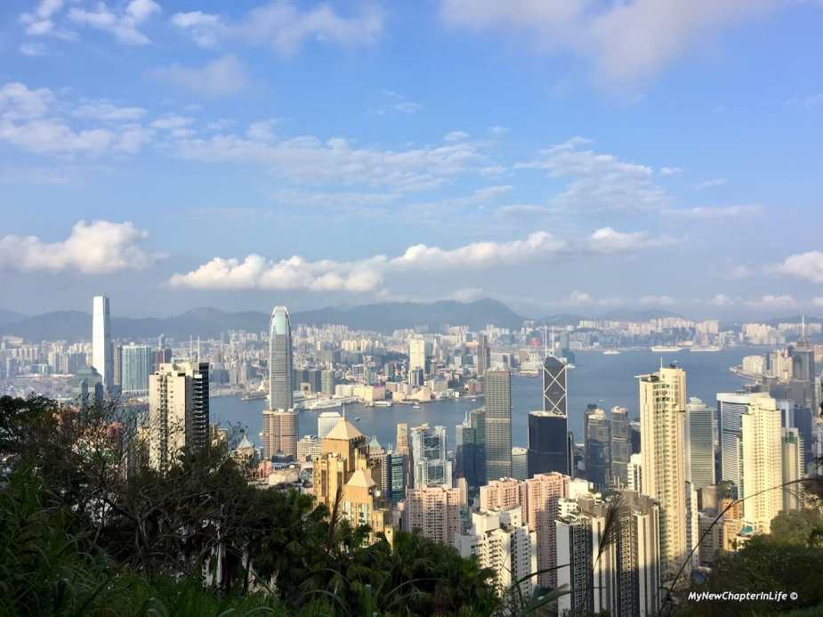 獅子亭上香港美景 The best shot of Hong Kong at the Lion Pavilion