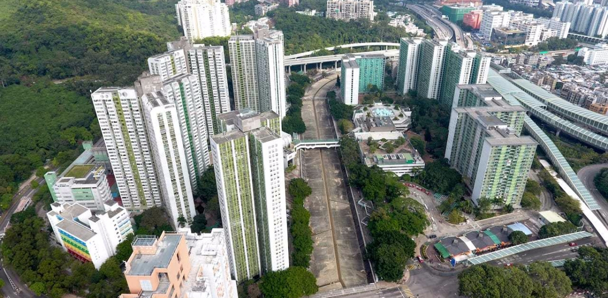Mei Lam Estate (Courtesy of Wikipedia)