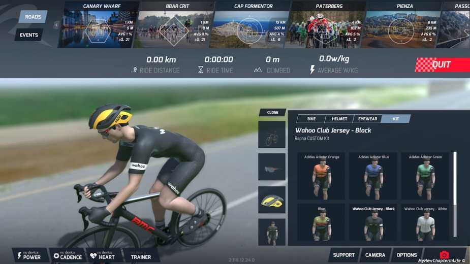 Another Virtual Cycling Beta – Road Grand Tours (RGT) – New