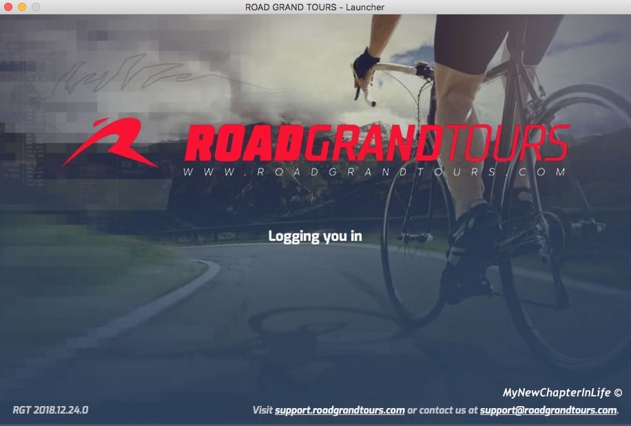 Login to RGT in progress ...